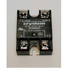 Crydom DC400D20 Solid State Relais OUT 300VDC/20A | IN 4-32VDC
