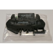 Crydom DRA1-CMX100D10 Solid State Relais Din Hutschiene 100VDC/8A |In 3-10 VDC