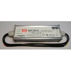 Mean Well CEN-100-42 LED Netzteil KSQ 96W 42V 2,28A CC+CV einstellbar IP66