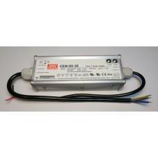 Mean Well CEN-60-36 LED Netzteil KSQ 60W 36V 1,7A CC+CV einstellbar IP66